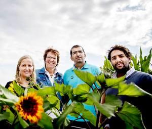 dagsavisen urbane bønder går i høyden